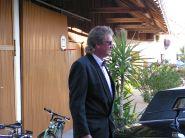 Peter als Chauffeur einer Stretch-Limo 2004