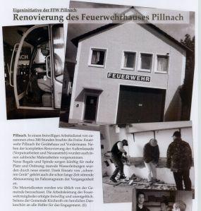 Renovierung FF Haus 2010