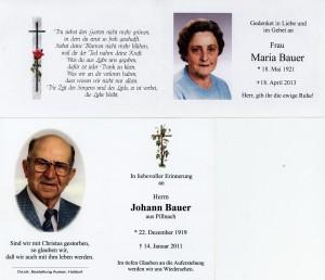 Herr und Frau Bauer