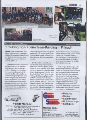 Gemeindeblatt Tigers HDG