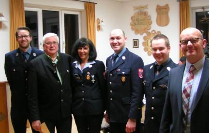 Egon Füssmann, 25 Jahre Mitgliedschaft
