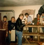 von links: Peter Fischer, Martin Landgraf, Karl Groß, Georg Erhart, Hans Lohmeier, Franz Landgraf
