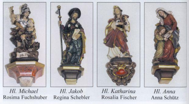 Heilige der kapelle