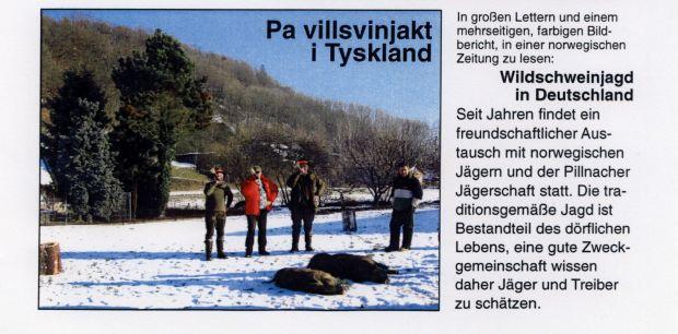 Wildschweinjag in DE