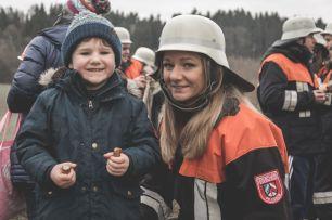 Neffe und Schwester Magdalena