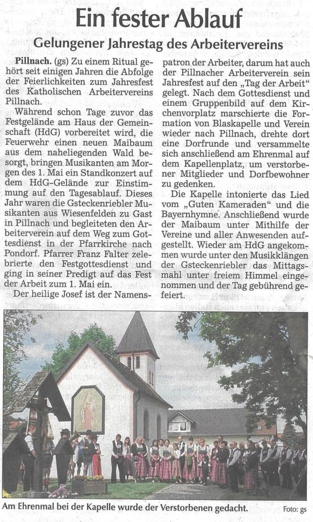 Straubinger Tagblatt 04.05.2018