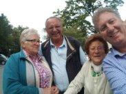 Zufallstreffen beim Lindner-Bräu mit Seniorentanzgruppe