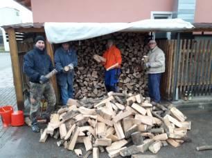 Holzarbeiten 2018
