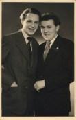 Engelbert Kraus (16 Jahre) und Ludwig Wolf (18 Jahre). Entnommen aus dem Album von E. Kraus