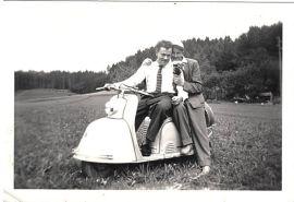 Ludwig Wolf und Hans Fischer+
