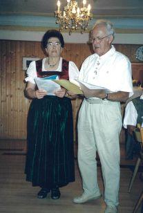 Rosa Schmidbauer + und Ludwig Wolf