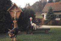 Wigg mit Hunden 1991