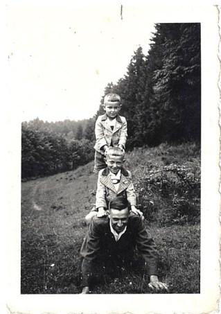 1940 Johann Kraus sen., Johann Kraus jun., Englbert Kraus