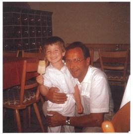 1984 mit Enkel Albert