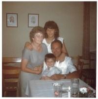 1984 mit Tochter Sigrun und Enkel Albert