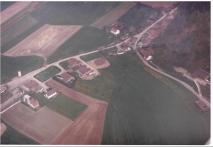 Luftaufnahme Waldstraße Pillnach