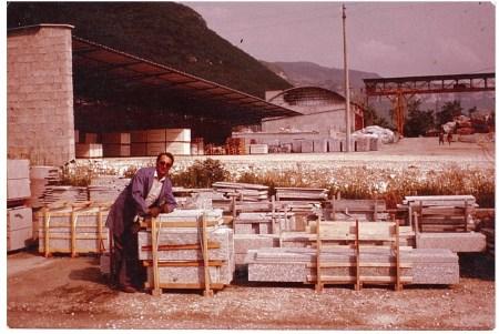 Steinbruch / Marmorwerk Italien